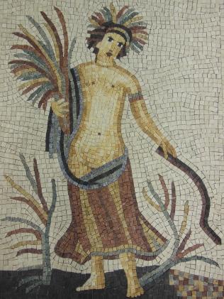 Mosaïque Romaine pour boutique de cosmétique