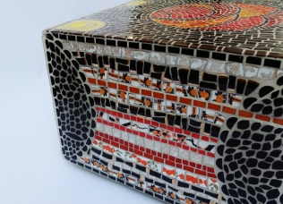 cube table pouf