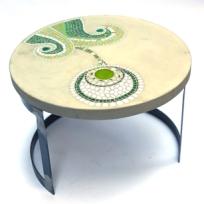 salon cotesud aixenprovence d coration jardin table basse pied de parasol mosaique vanina. Black Bedroom Furniture Sets. Home Design Ideas