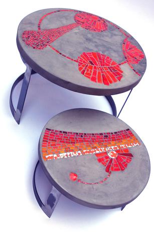 tables | vanina mercury mosaïques :: décoration et objet d\'art ...