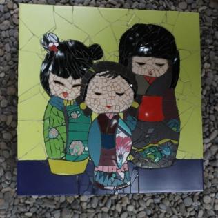 tableau kokeshi