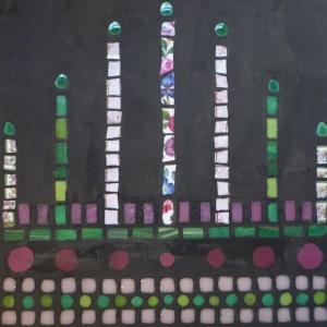 table tabouret mosaïque béton dessus (800x800)