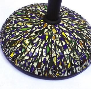 pied de parasol picassiette andalou