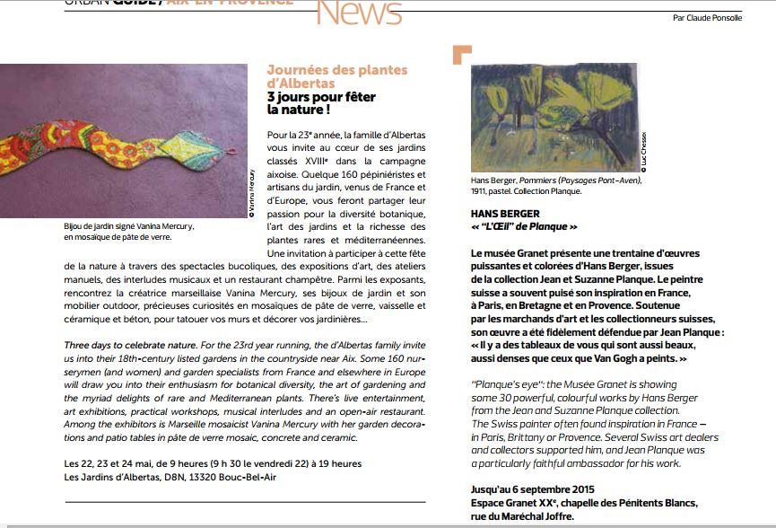 Côte magazine, mai 2015 texte pg 52