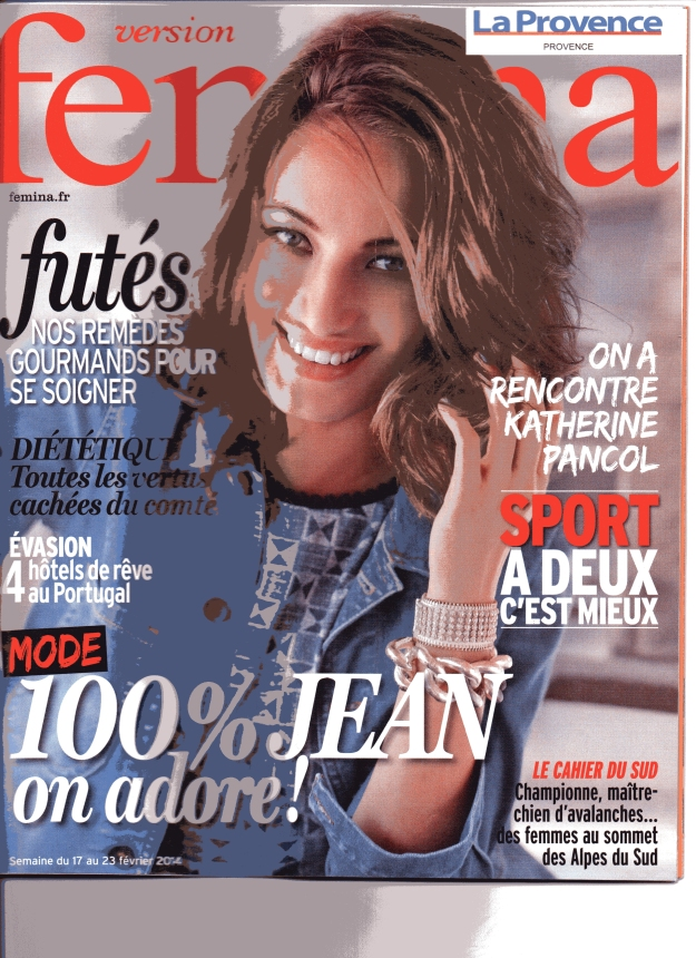 Fémina, Supplément La Provence, fév 2014