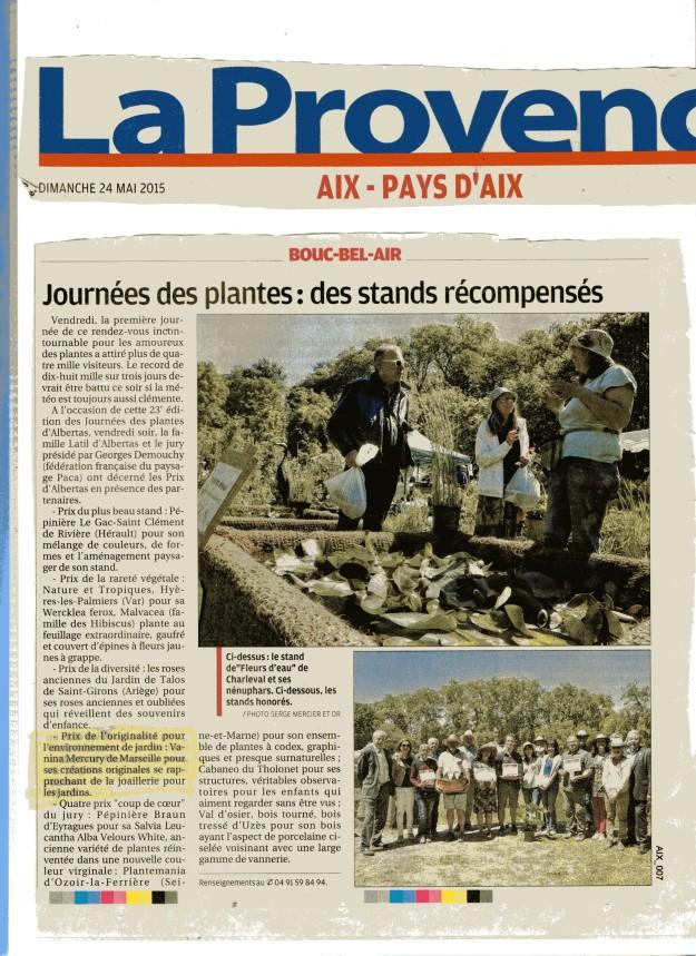 La Provence Dimanche 24mai 1