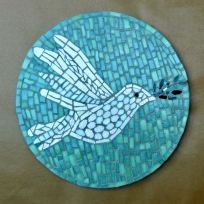 cours mosaique adulte Colombe