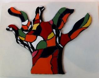 l'arbre de Nikki, cours adulte mosaïque marseille