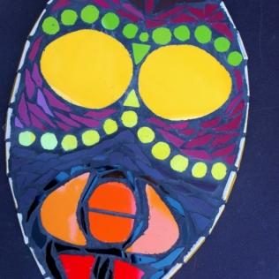 masque africain, Stage mosaïque Ado Marseille