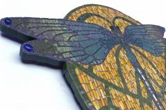 bijoux de jardin, Libellule détail
