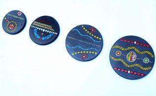 série de 4 pas japonais S2, 40cm,35cm,30cm,25cm