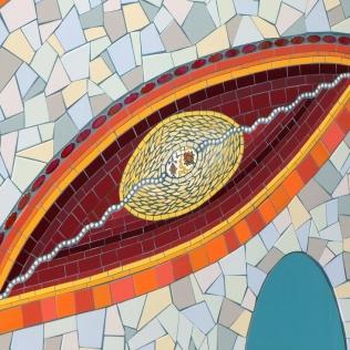 détail fresque murale